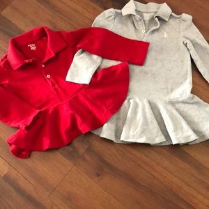 🍁🍁Ralph Lauren peplum dress & shirt 🍁🍁